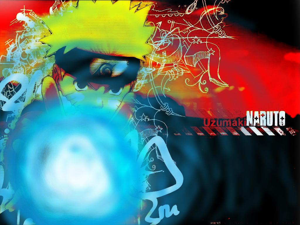 Naruto with Rasengan
