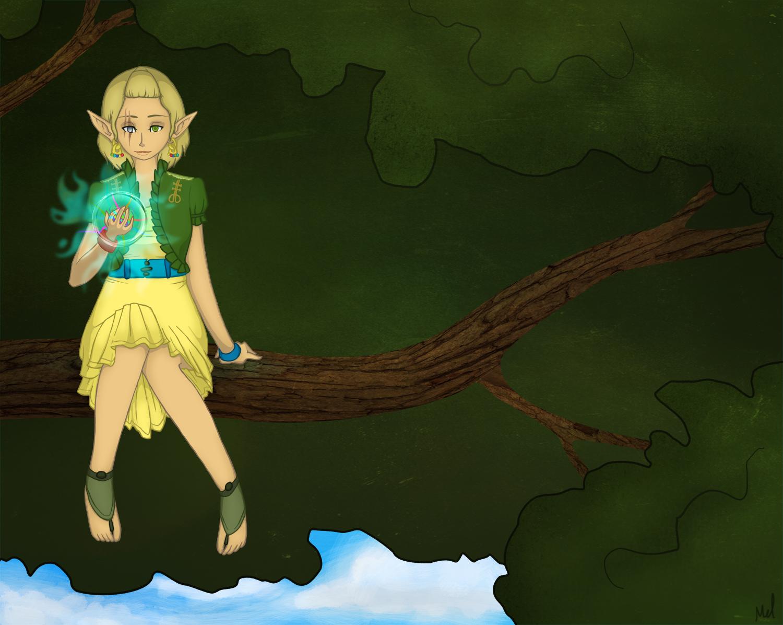 Tree Spirit Girl