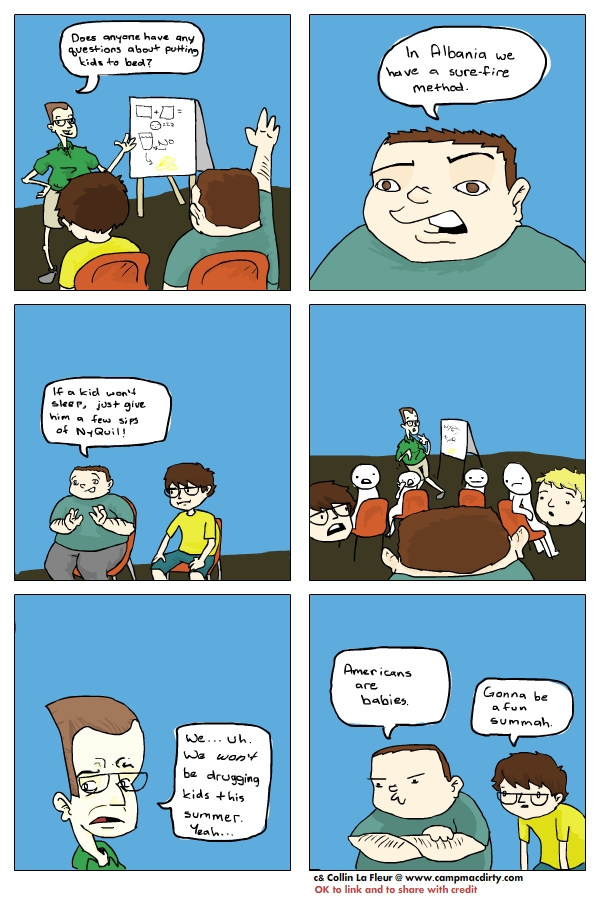 Camp Mac Dirty Comic 1