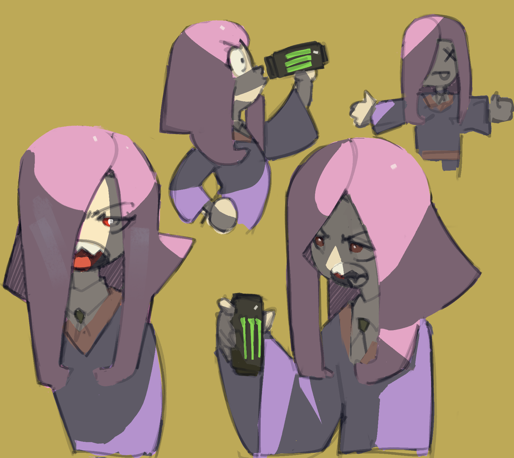 Sucy Drinks a Monster