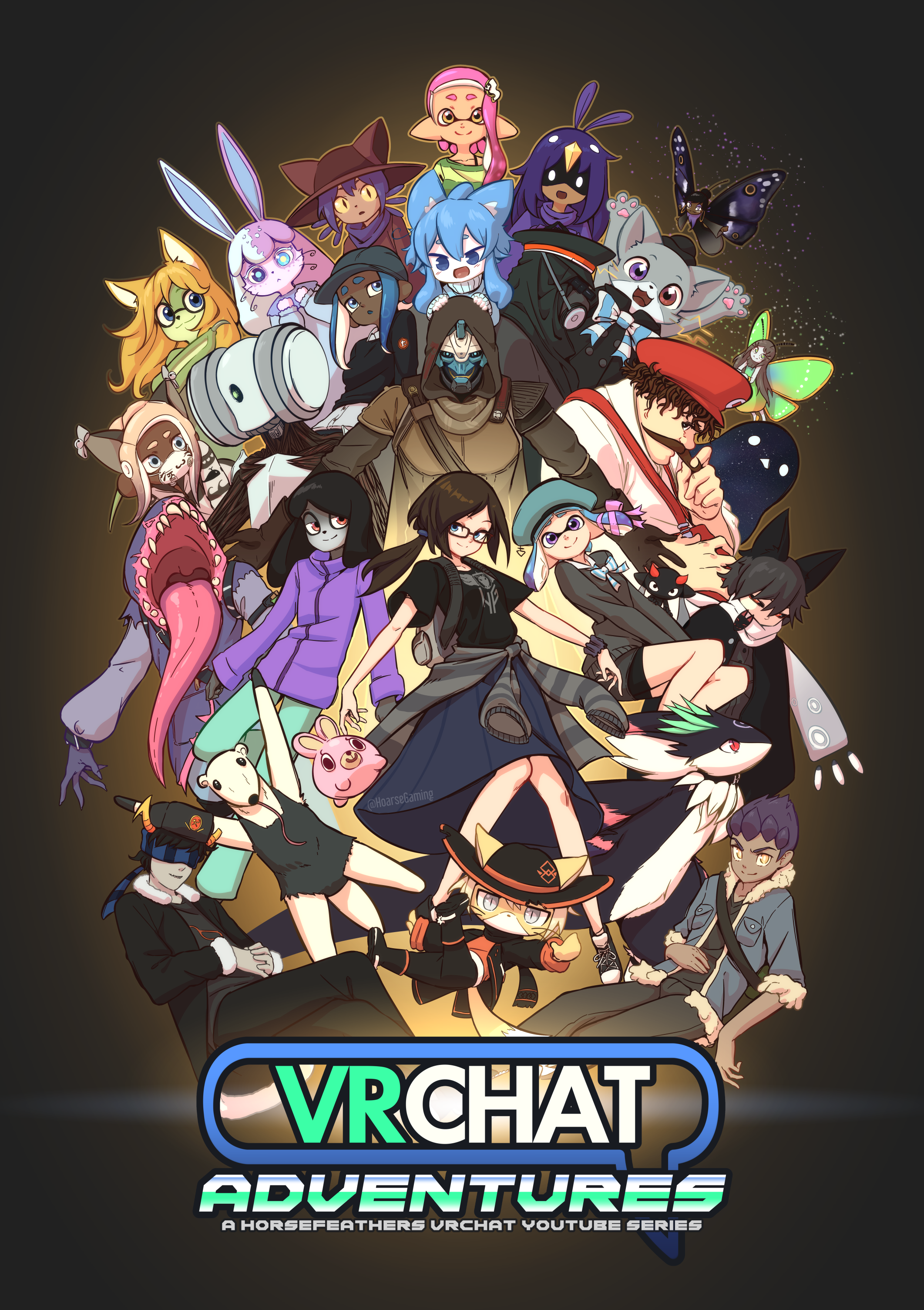 VRChat Adventures Poster