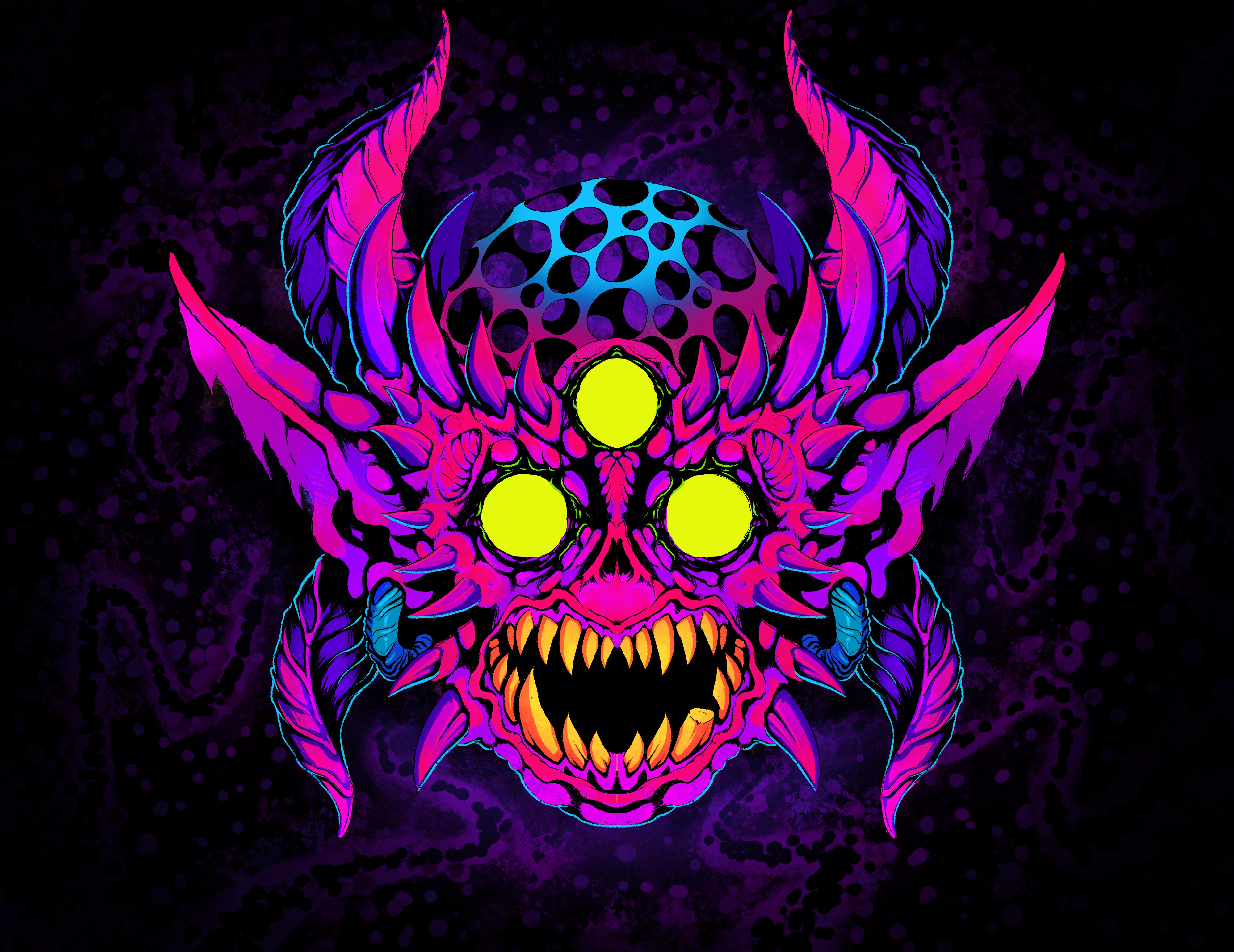 Cosmic Demon Head