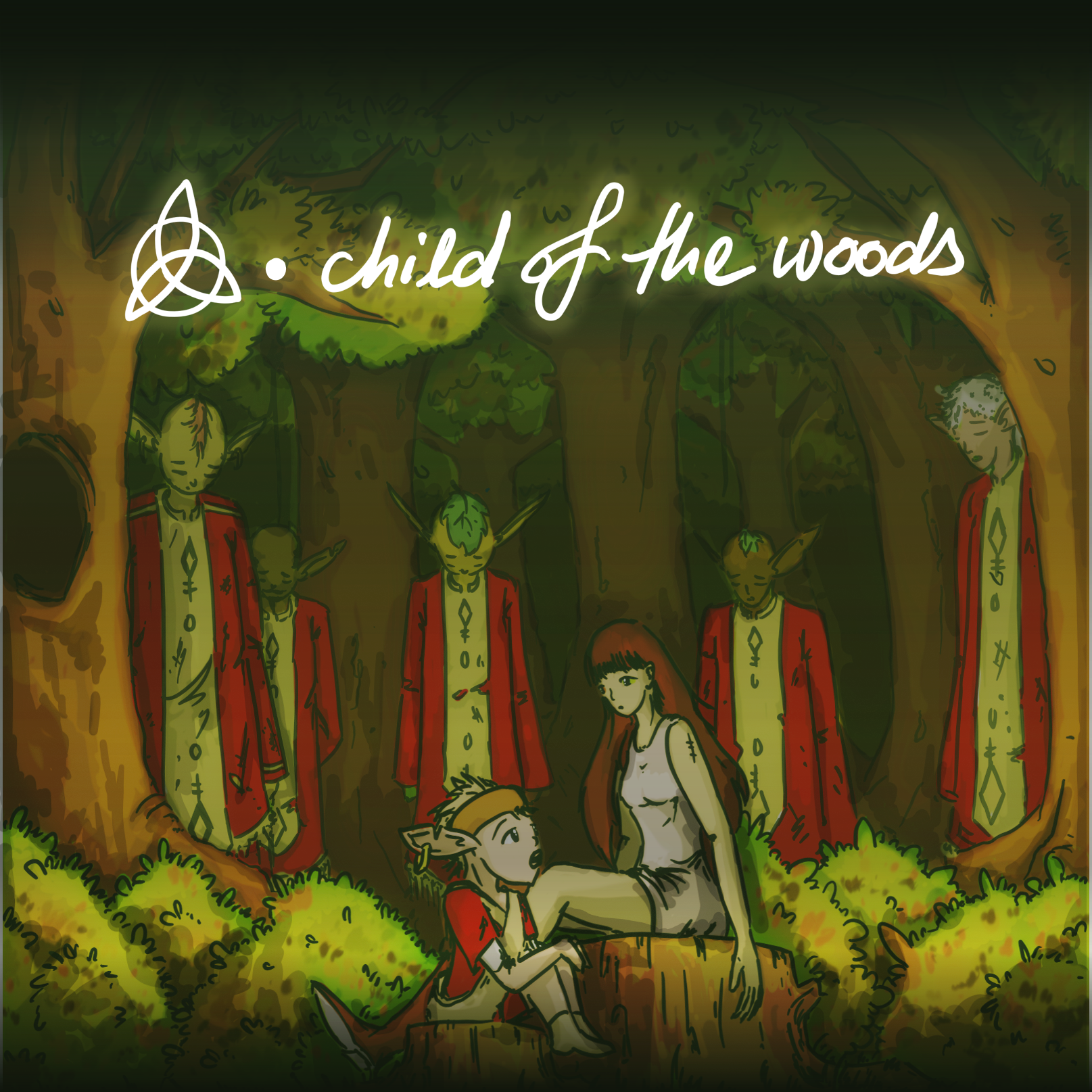 child of the woods ~ Sleeve Cover