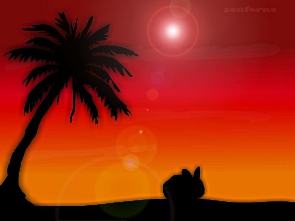 Bunny Sundown