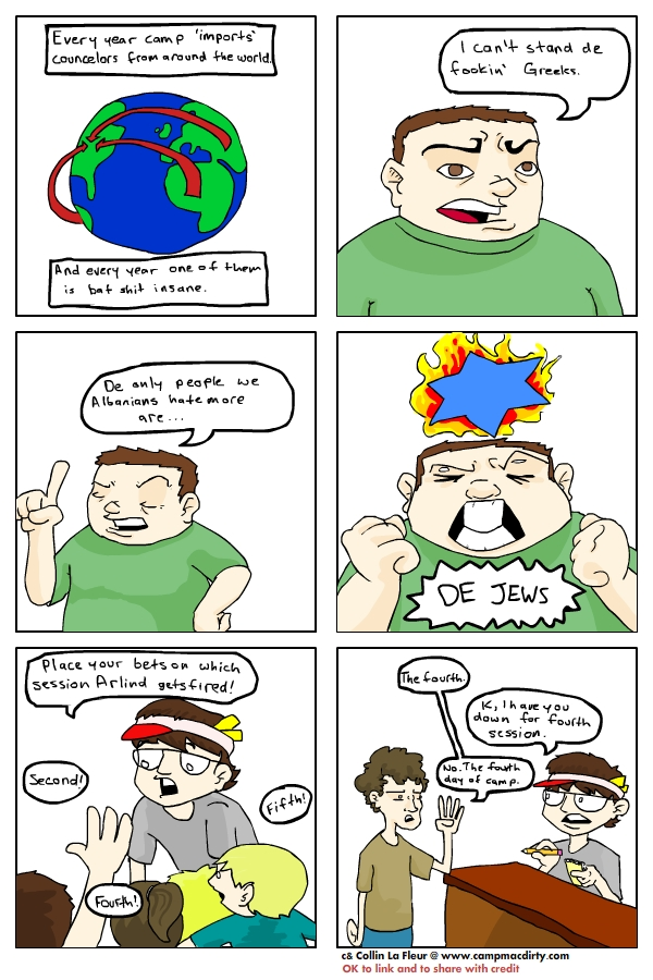 Camp Mac Dirty Comic 2