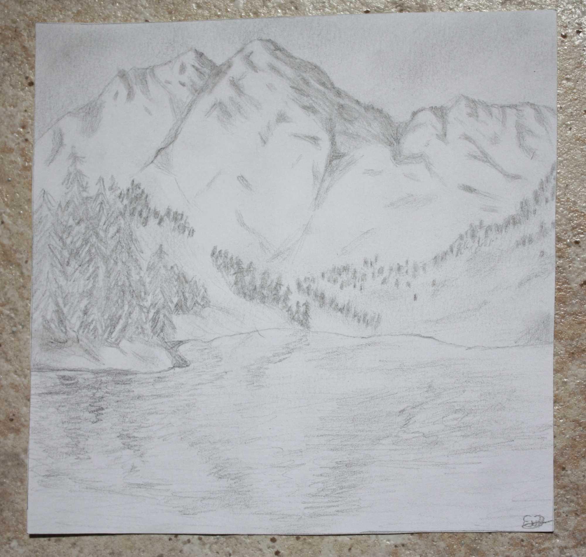 mountain lanscape