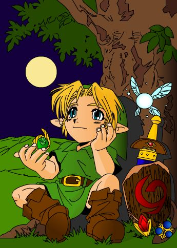 Link and the stones