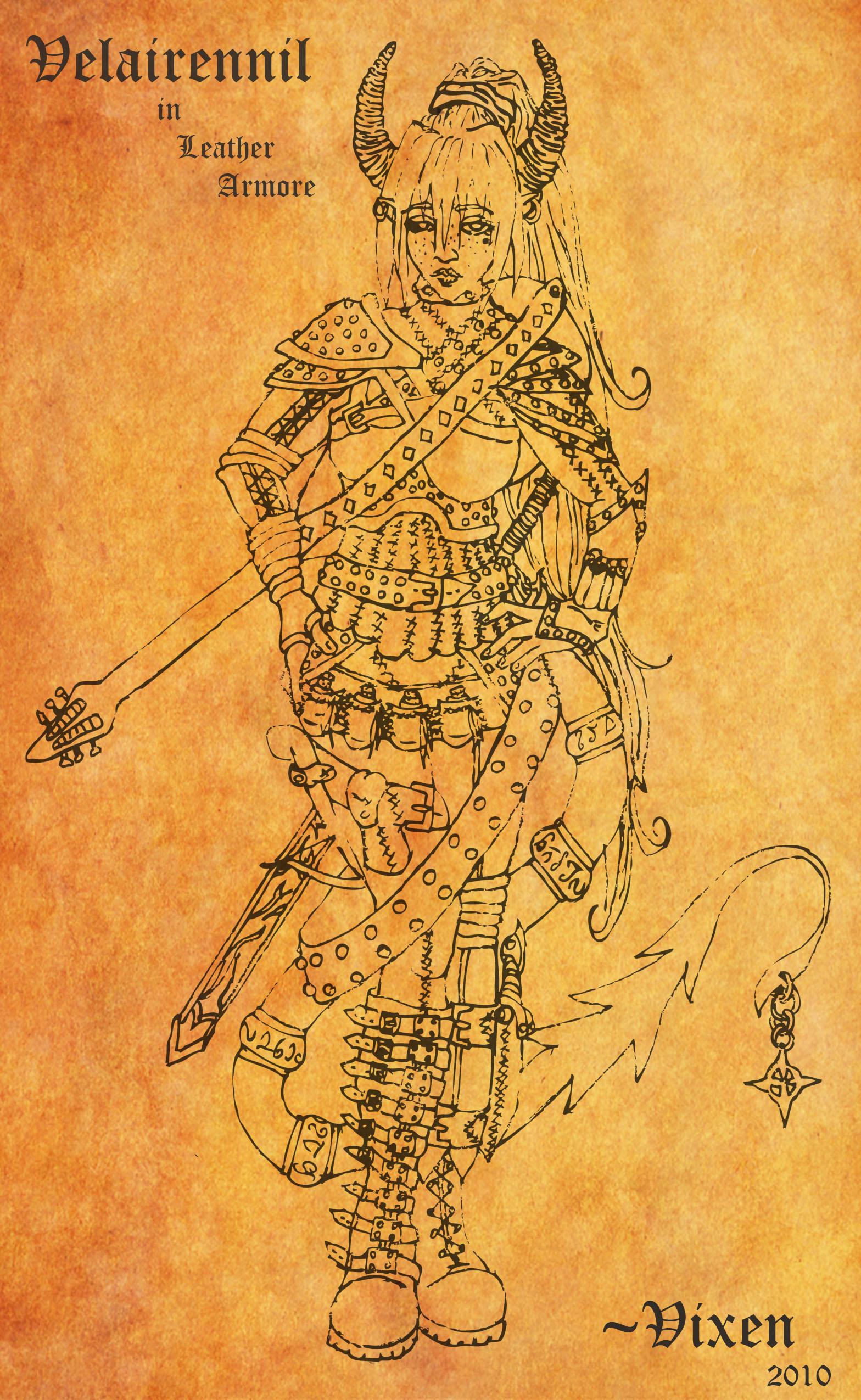 Velairennil- Leather Armore