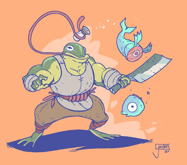 The Froggo Chef