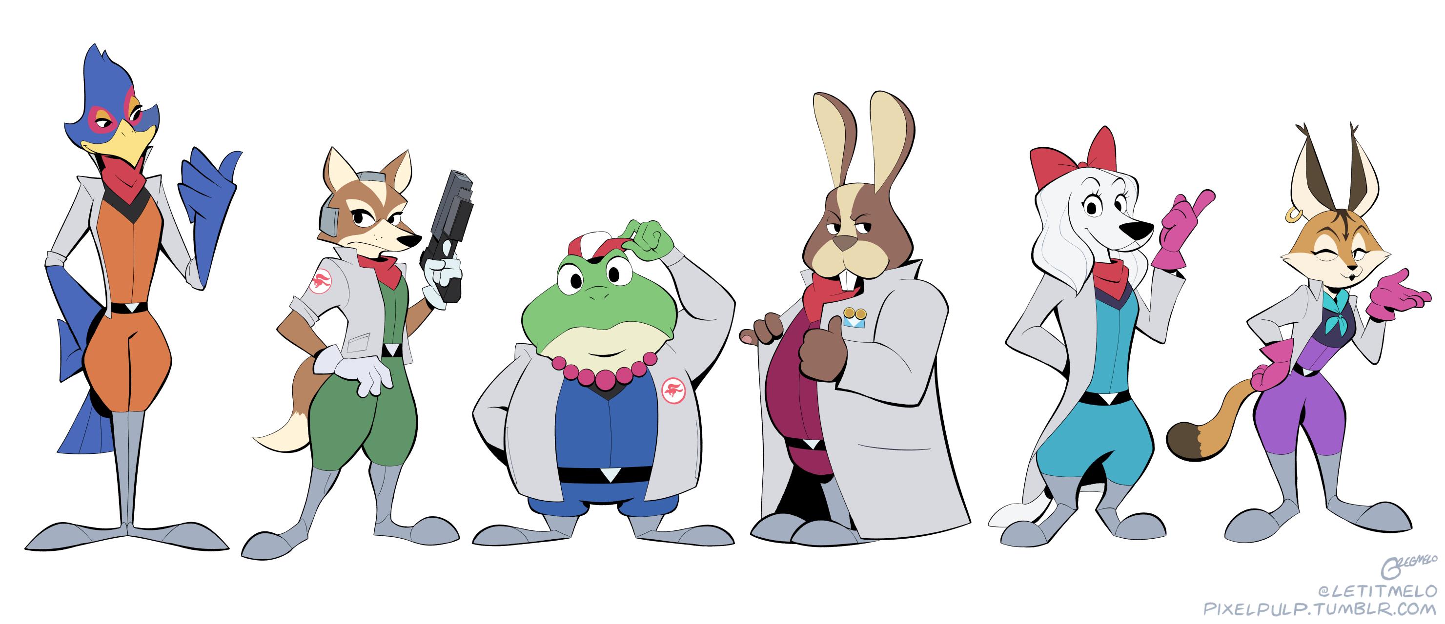 Team Star Fox Lineup