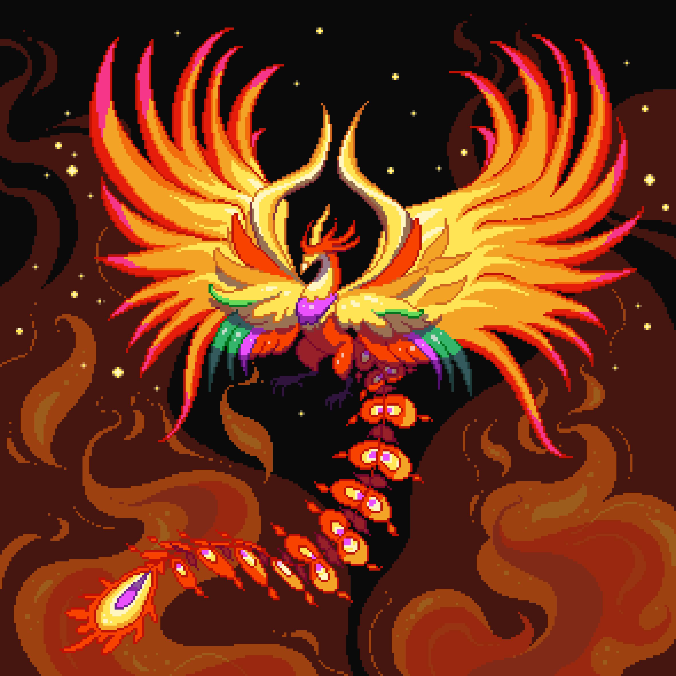 Phoenix from Final Fantasy IX