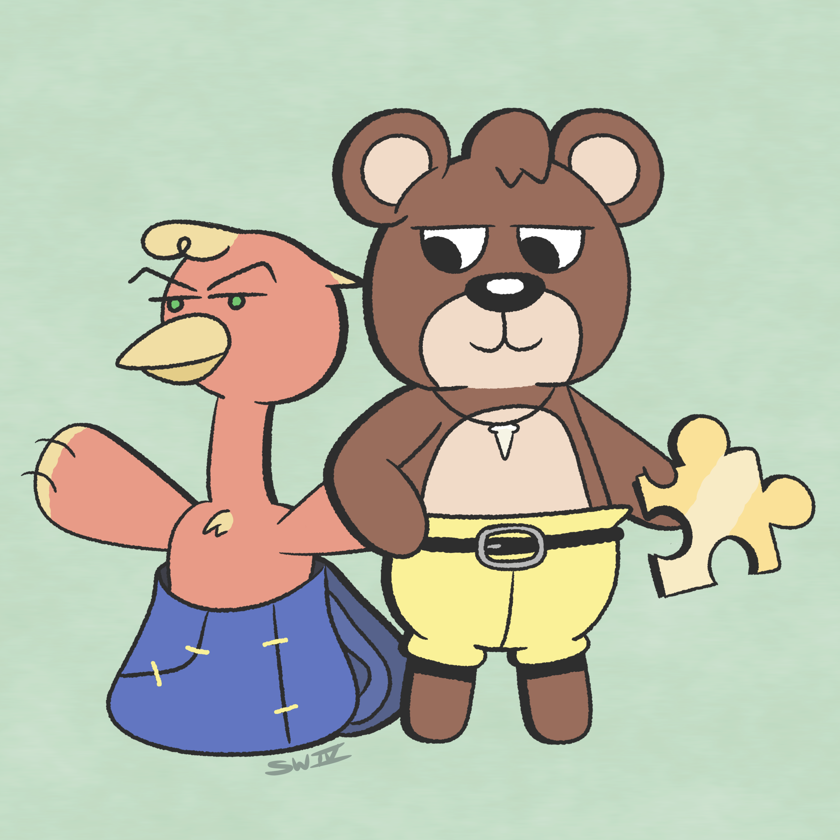 Banjo-Kazooie x Animal Crossing
