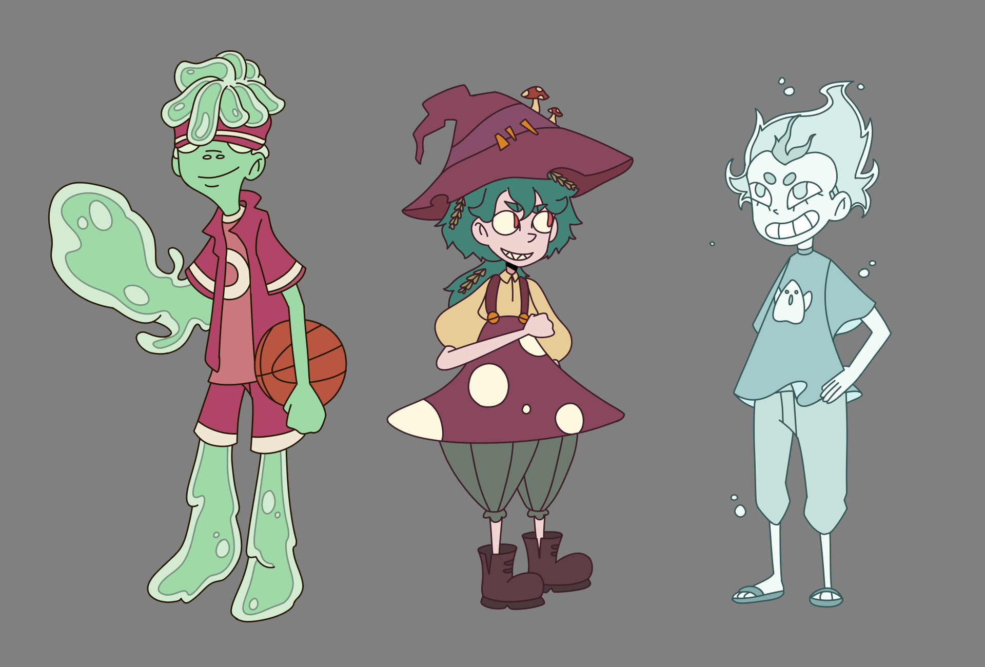 Character Design - Witch Project