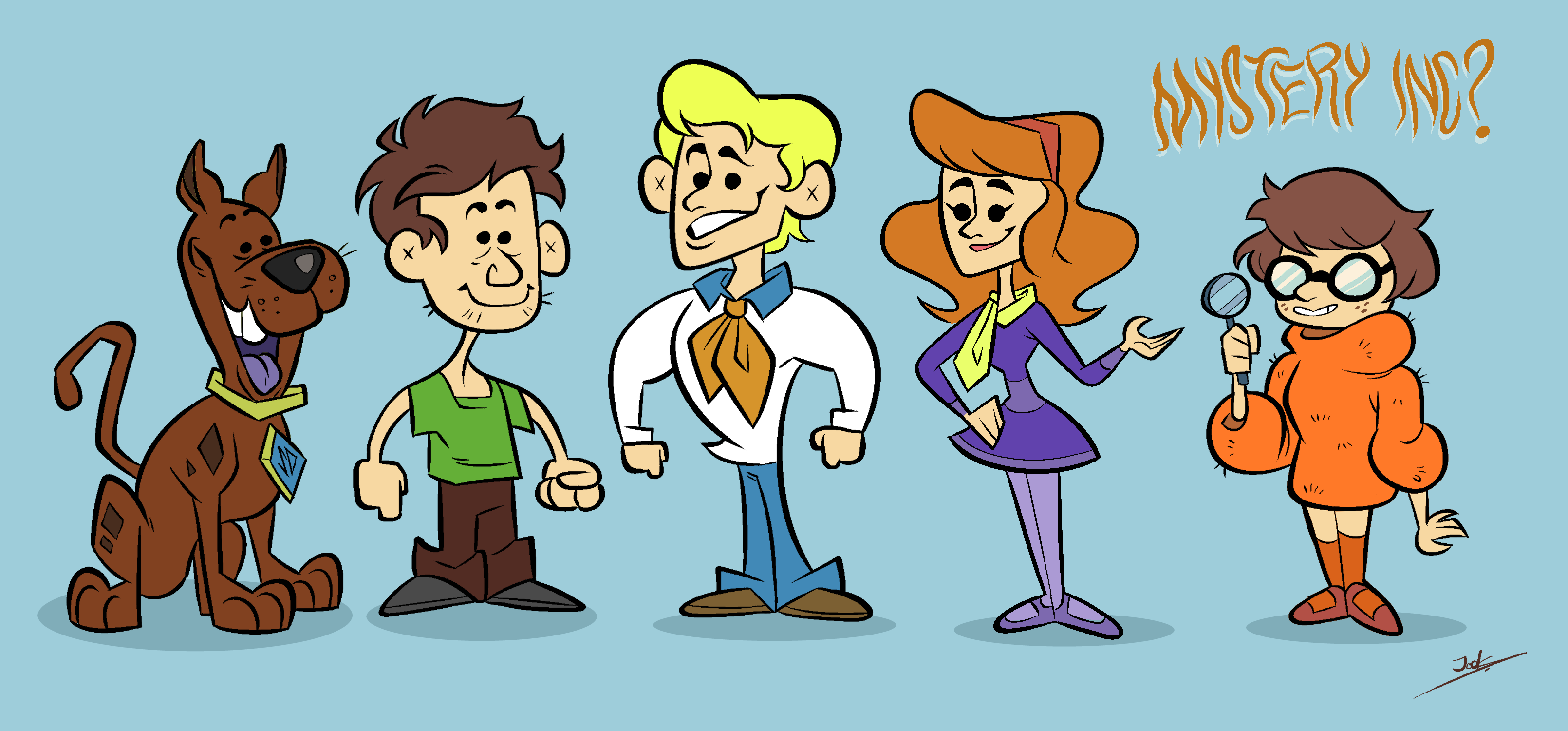 Mystery Inc. Redesign