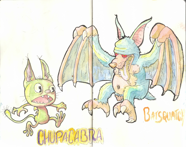 Chupacabra and the Batsquatch