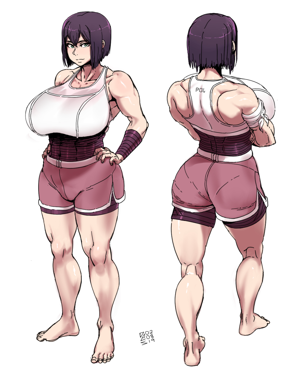 Riennas' sparring outfit