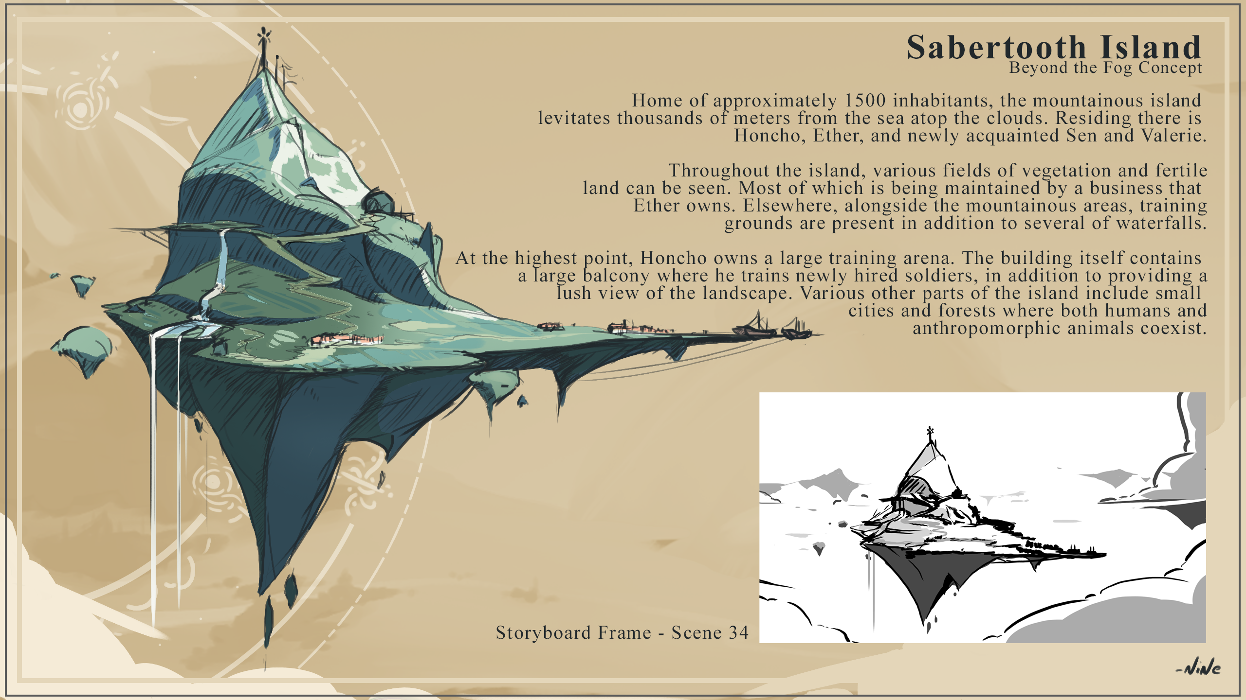 Sabertooth Island (Concept Art)