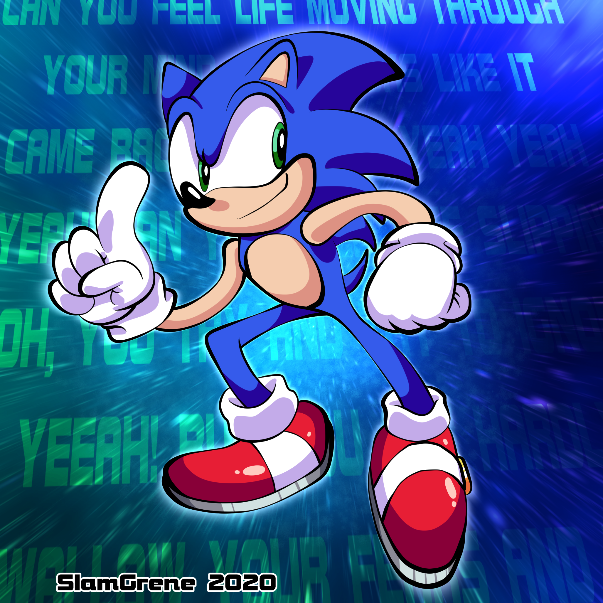[Witty title relating to Sonic]
