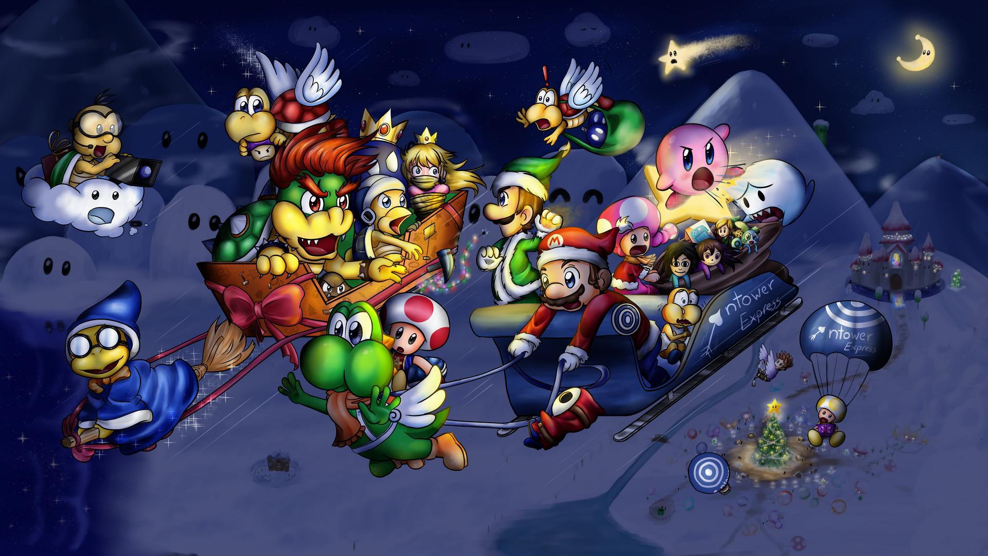 Nintendo Christmas Fanart 2019