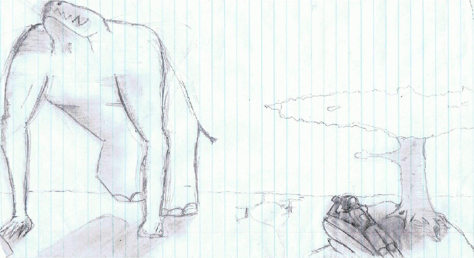 Savanna Titan - Hand Drawn