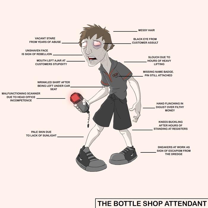 The Bottle Shot Attendant