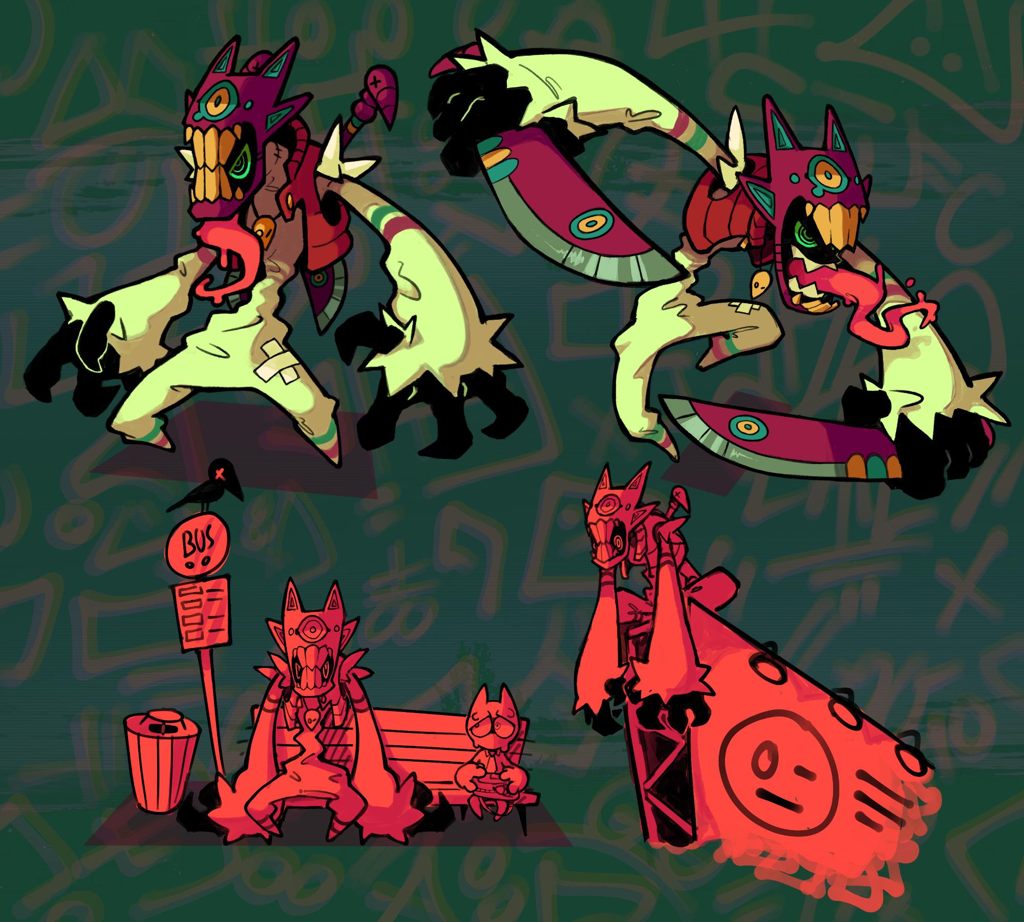 Large Knives Mask Guy