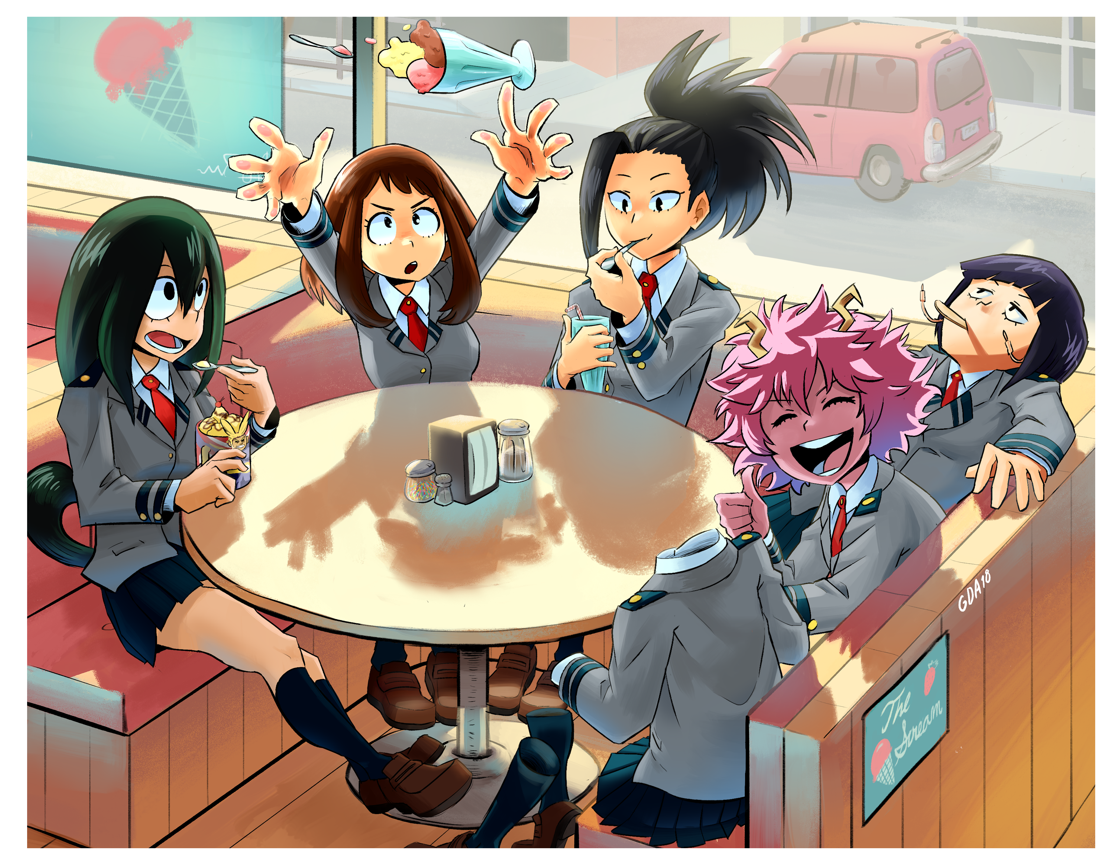 girls day out BNHA