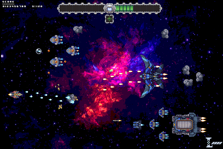 Space Shooter mock up
