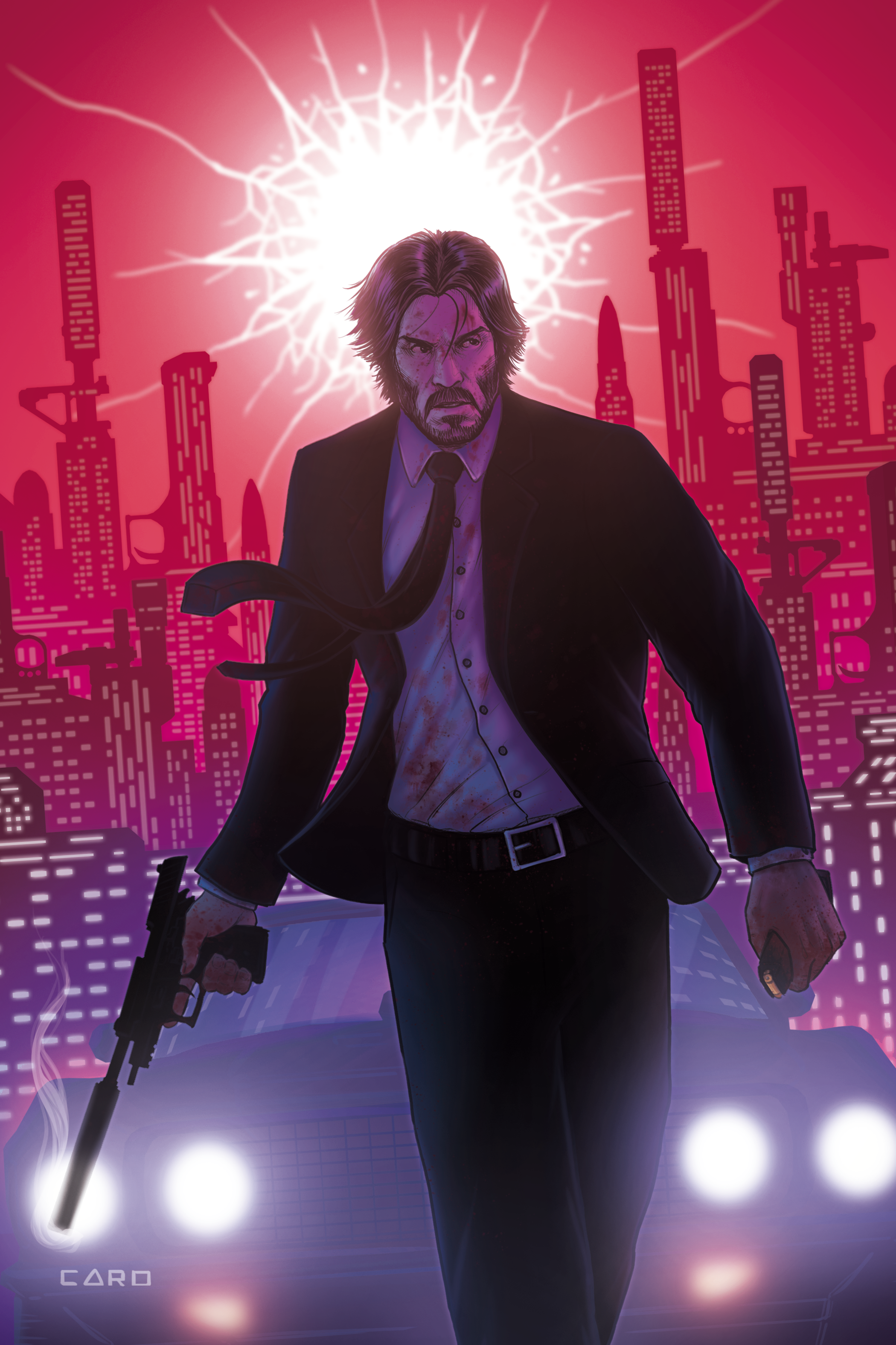 John Wick - Comic Cover