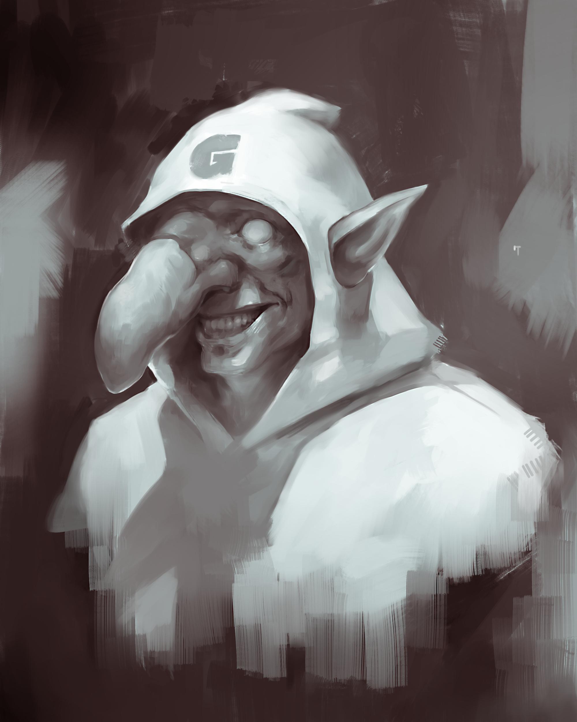 Goblin dude sketch