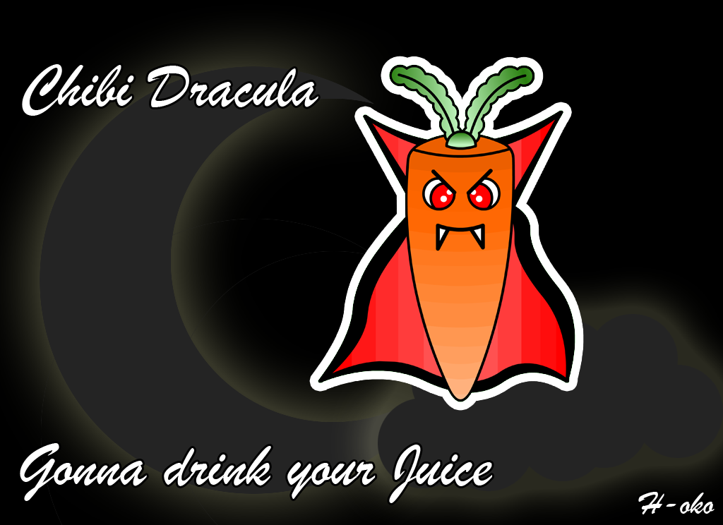 Count Carrot The Vampire