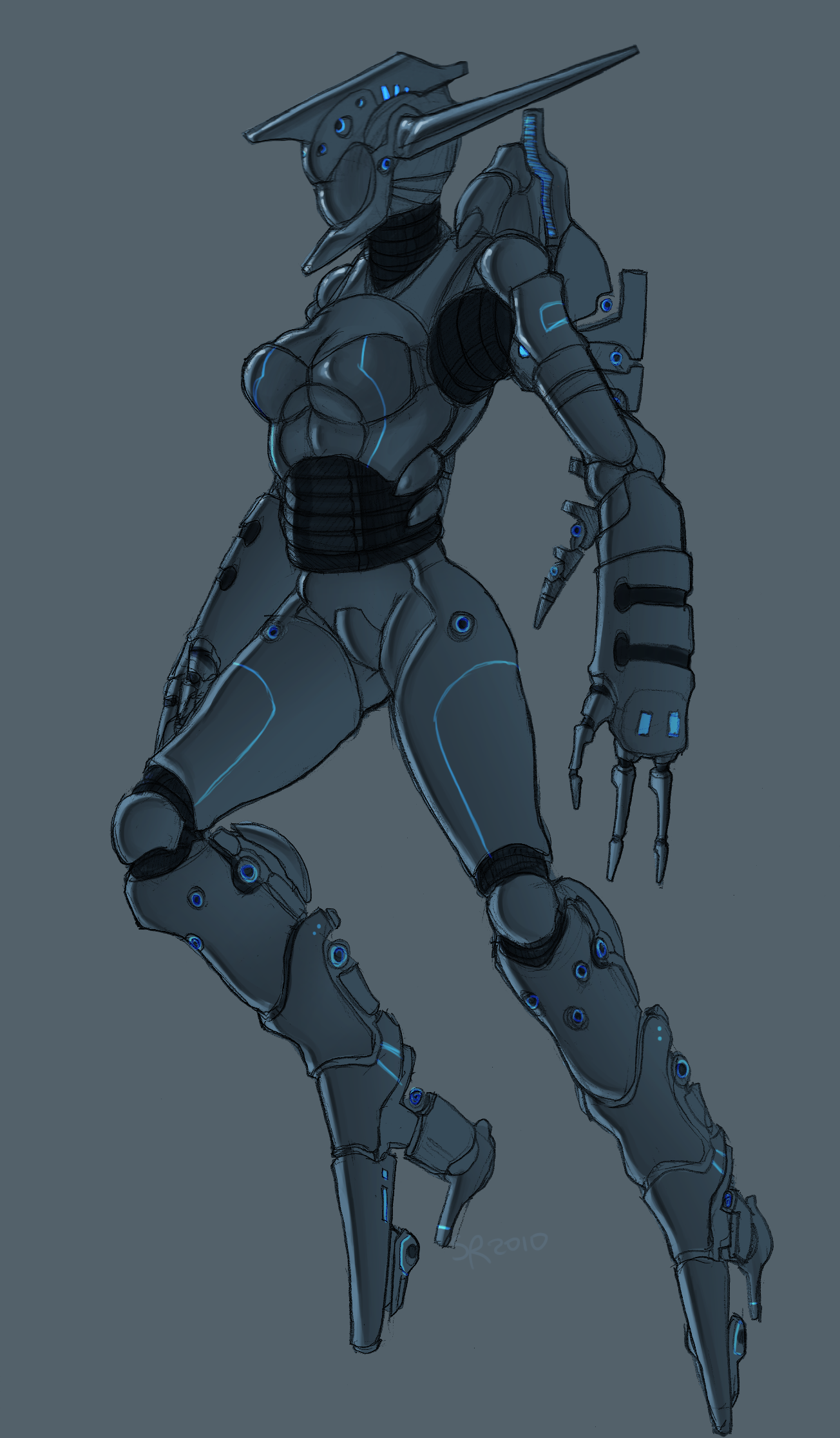 Mecha Suit for the Ladies