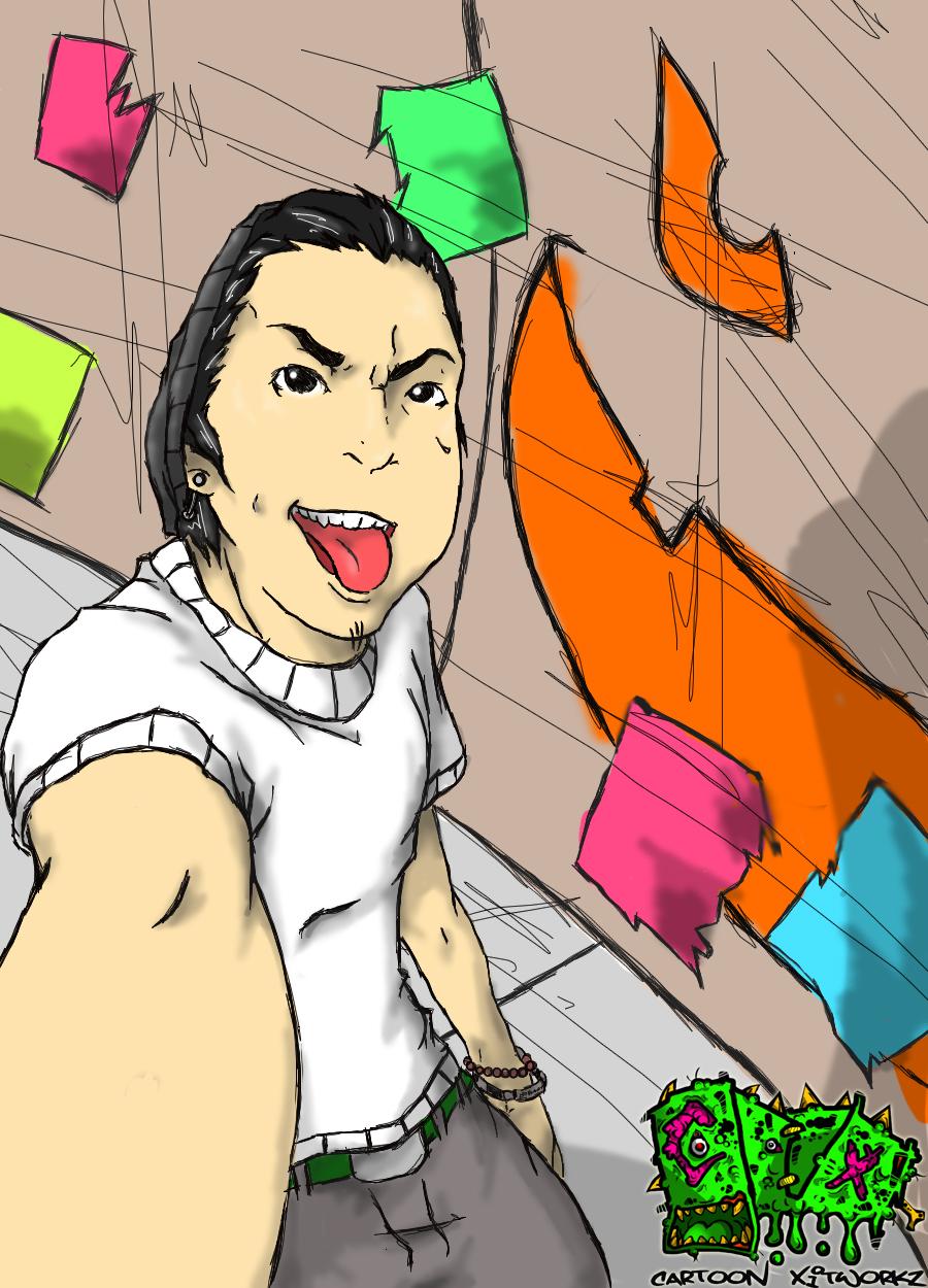 Me, Cartoonized.