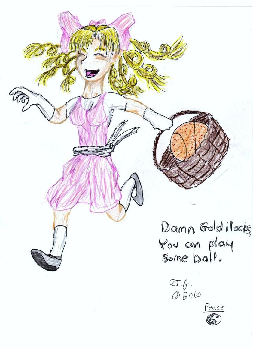 Goldilocks plays ball