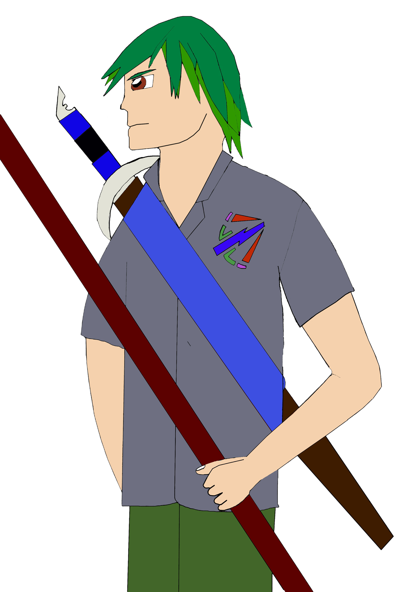 Manga Character no background