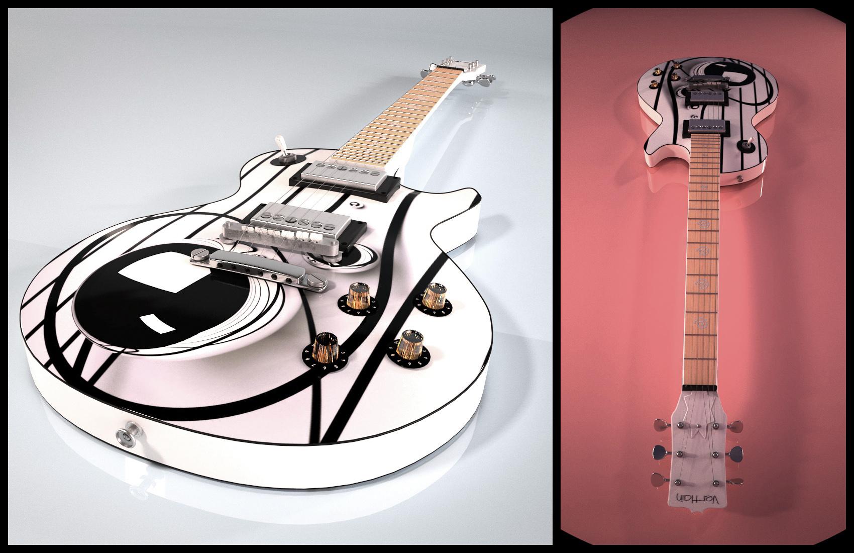 """""""Power Pop"""" Les Paul Custom"""