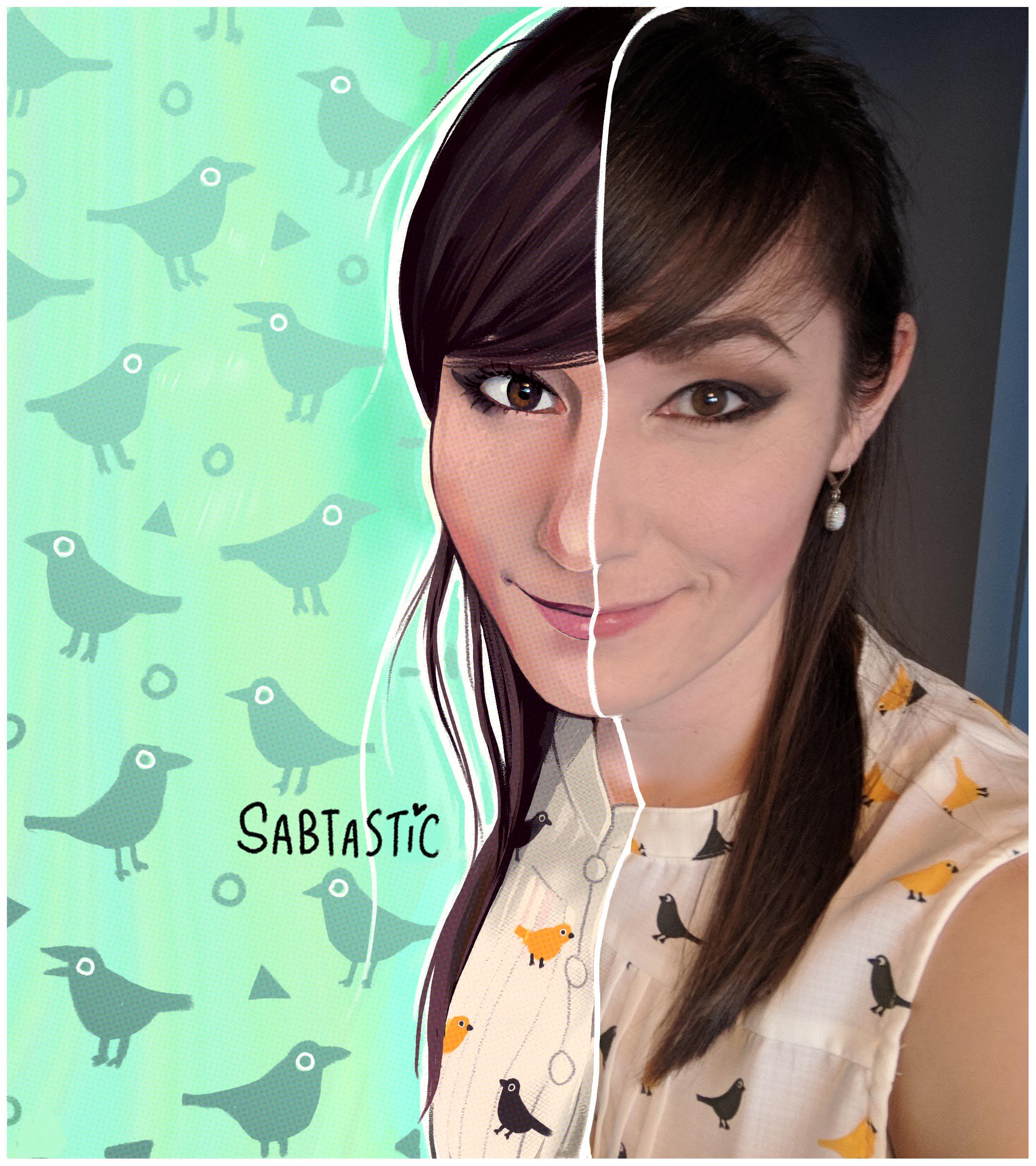 #ToonMe Self Portrait