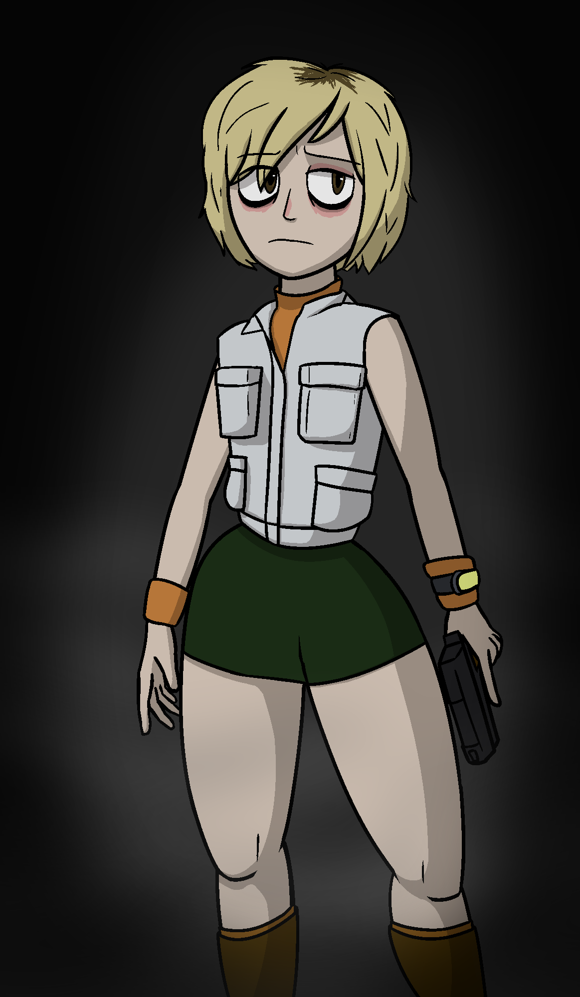 Heather Of Silent Hill 3 Fame The Character Heather From Silent Hill 3 Silent Hill 3 Character Hea By Dipsheet On Newgrounds