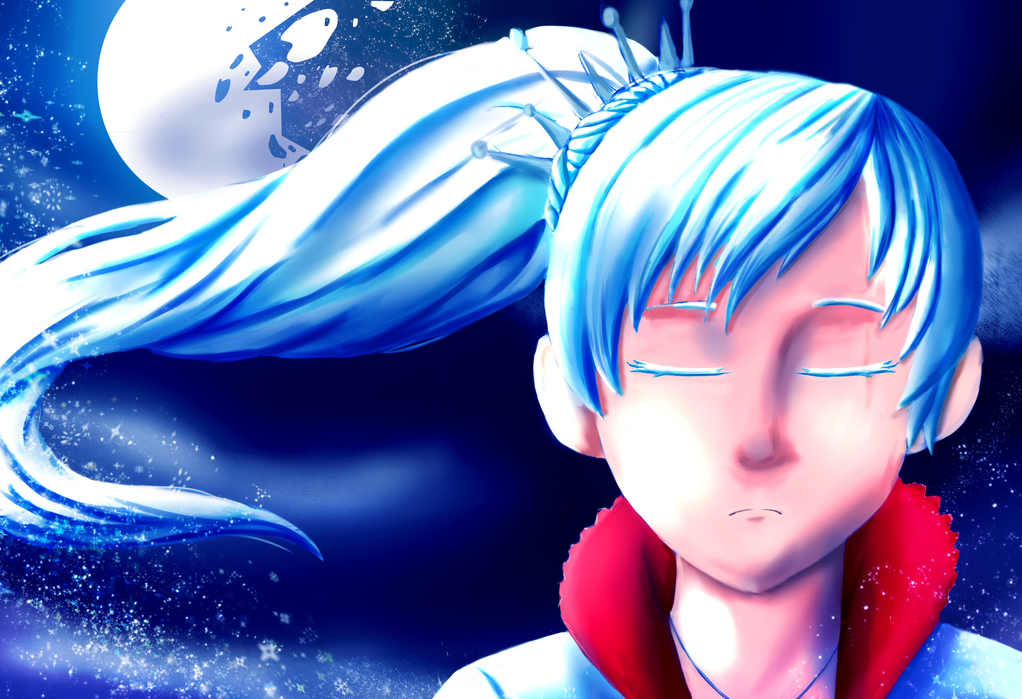 Weiss from RWBY