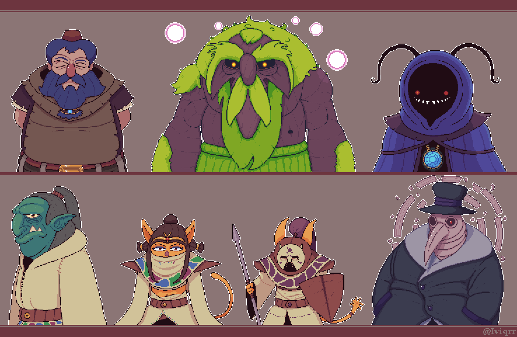 RPG Characters - Pixel Day 2020