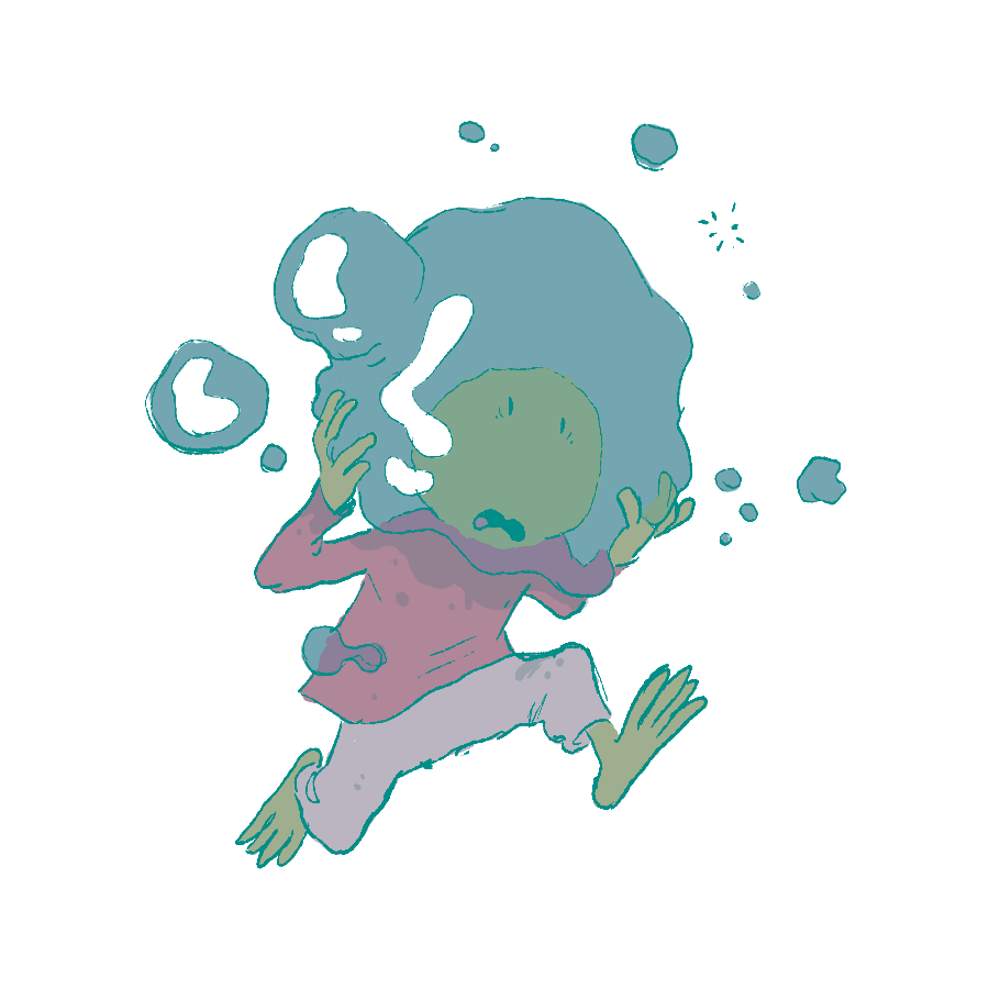 Bubbles in Clutch