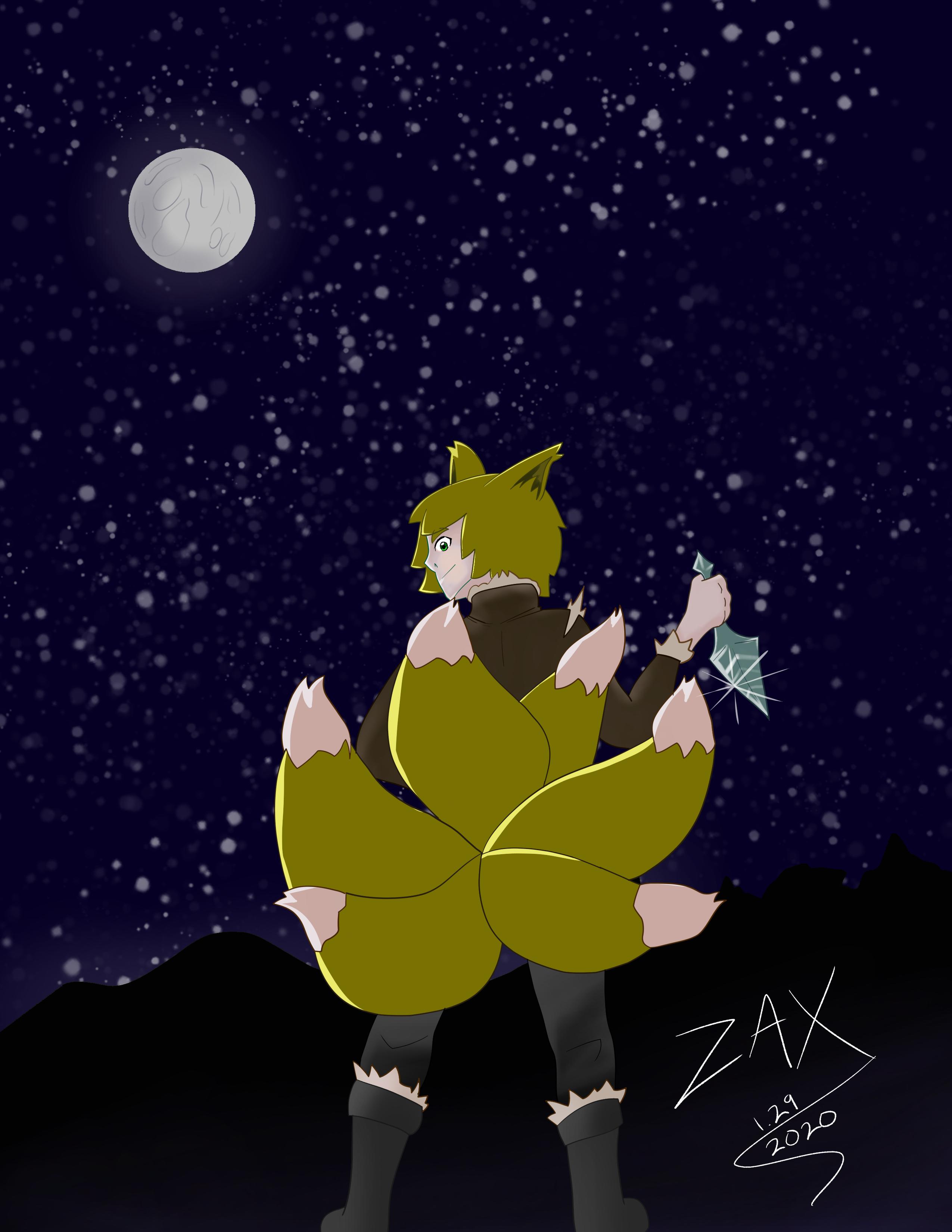 Nikk (Kitsune Dualist)