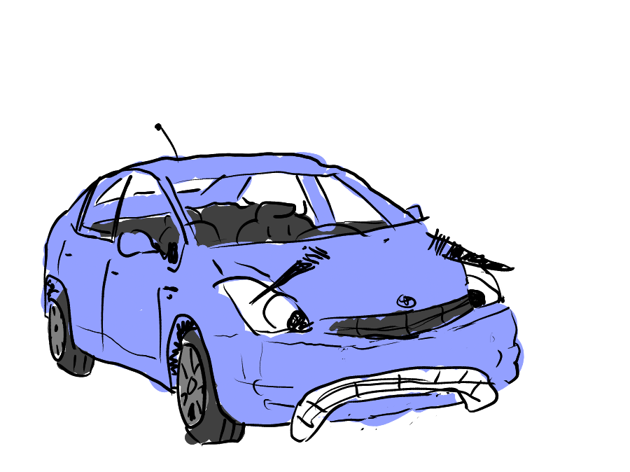 Sad Prius