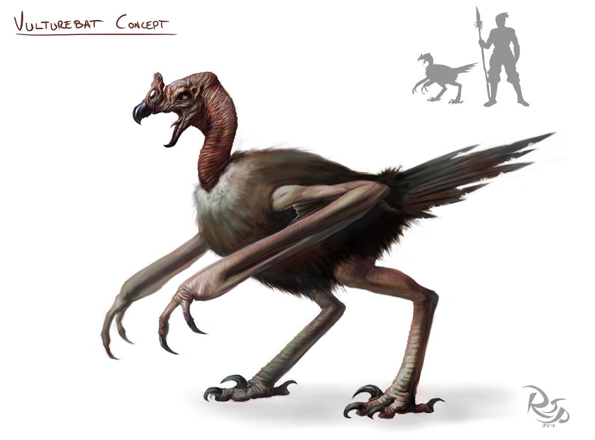 Vulturebat Concept