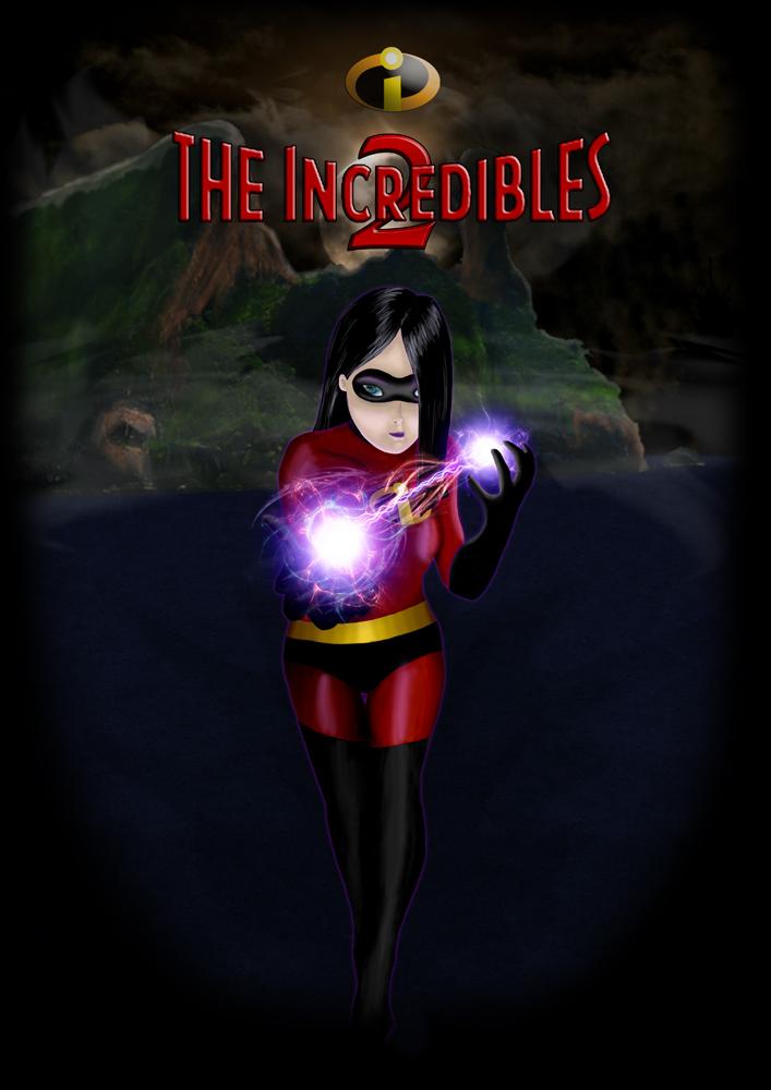 The Inredibles 2: Violet