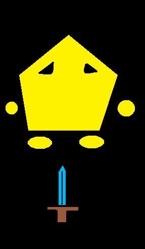 My mini yellow knight