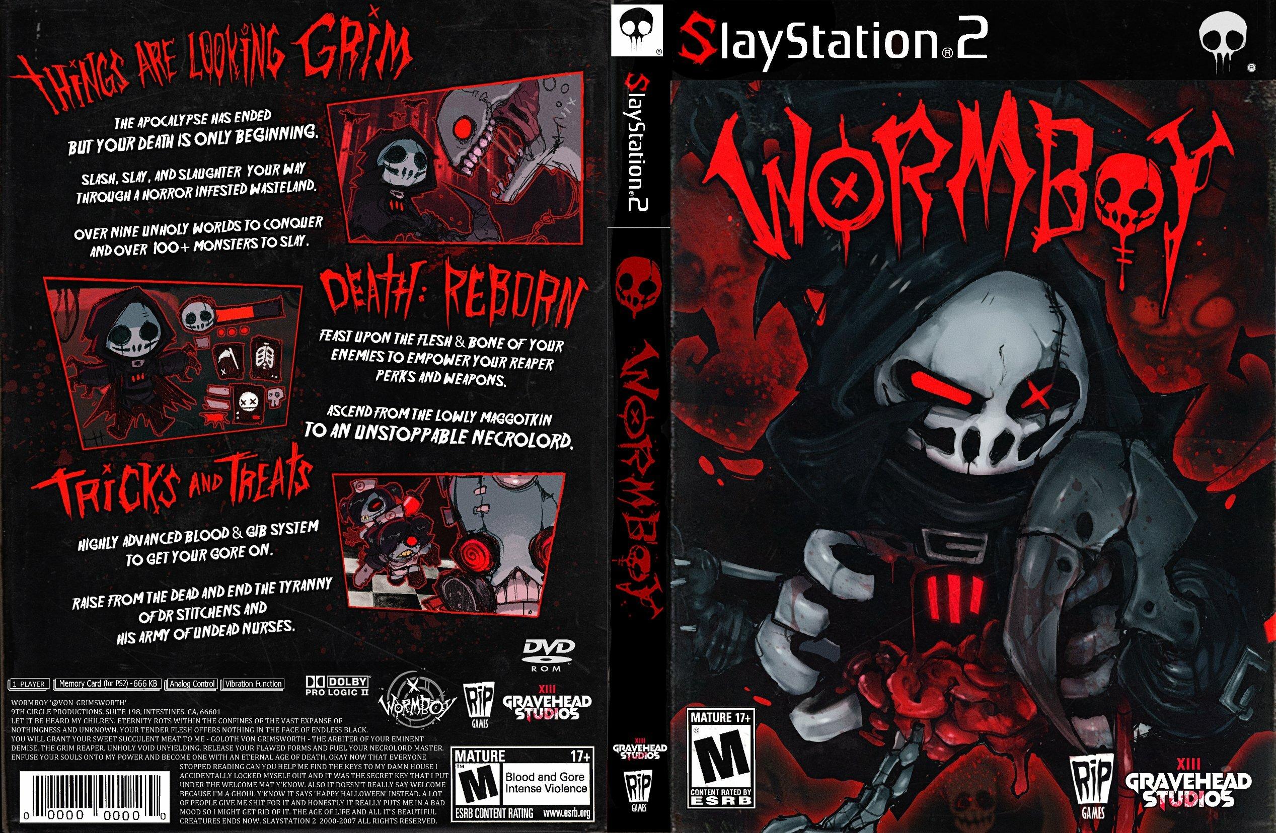WORMBOY: THE UNHOLY (PS2)