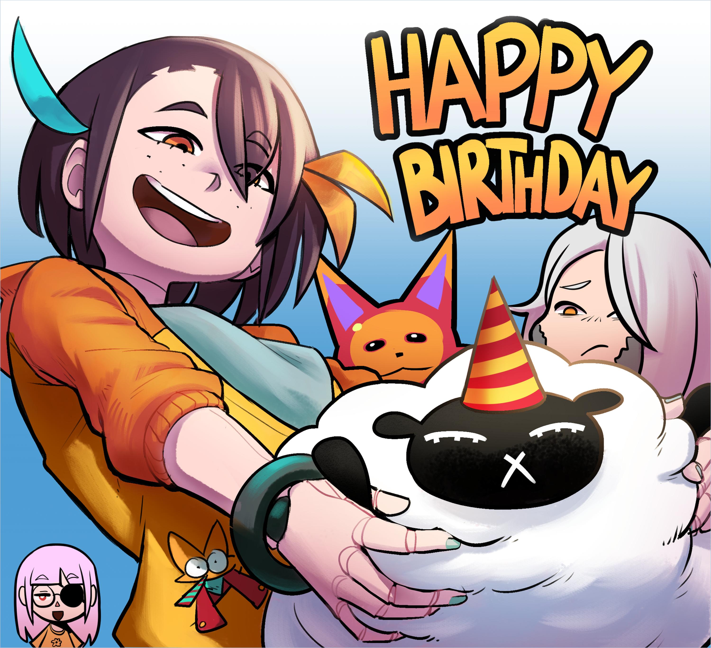 cashu´s bird birth day