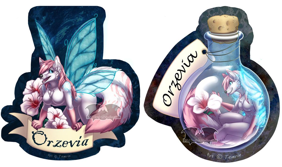 Fairy Orzevia Badges