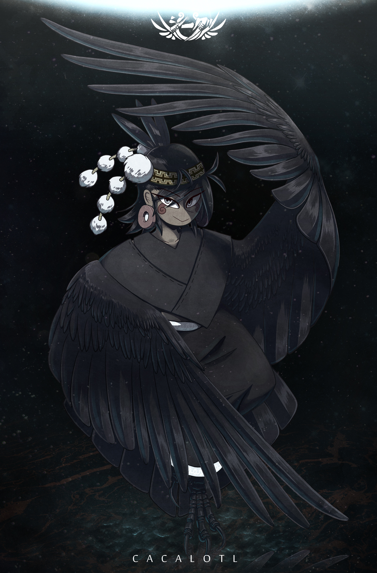 Crow in the Abyss